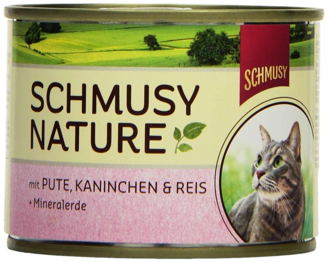 Schmusy Nature Menu con Pavo & Conejo 190 g