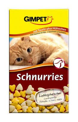 GimPet Schnurries - vitamin deliCatesse med taurin smagfuldt fjerkræ