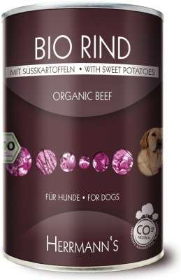 Organic Food Organic Beef with Sweet Potato 12x400 g  by Herrmann's  Buy fair and favorable with a discount