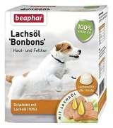 Beaphar Huile de Saumon `Bonbons` 245 g