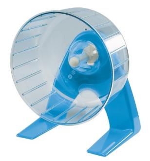 Ferplast Loopradjes voor Hamsters Plastik met Stander 14 cm  met korting aantrekkelijk en goedkoop kopen
