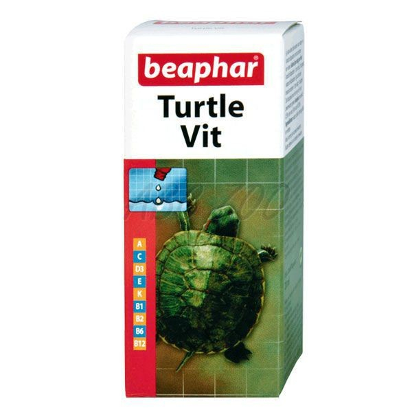 Turtle Vitamin 20 ml  da Beaphar Compre a bom preço com desconto