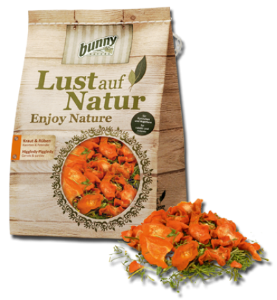 Bunny Nature Kruiden & rapen 50 g