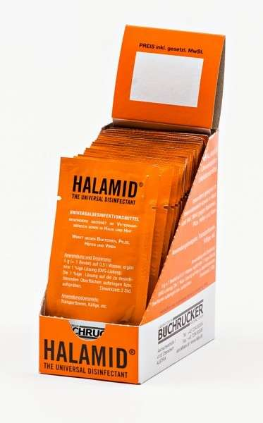Halamid Disinfection Counter Display 20x500 ml  från Happy Horse köp billiga på nätet