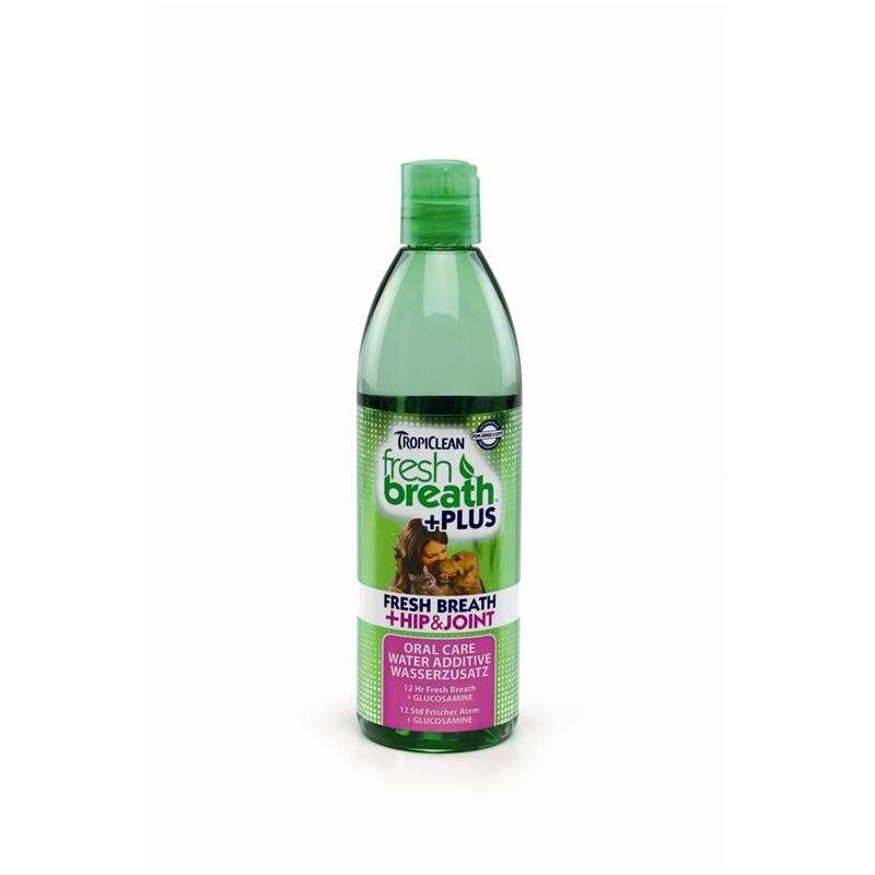 TropiClean Water Additive Plus Hip & Joint 473 ml kjøp billig med rabatt