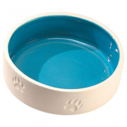 Ceramic bowl with Paw Print L