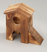 "Europet-Bernina Holz-Hamsterhaus ""Double"" Art.-Nr.: 16458"