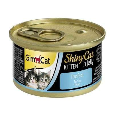 GimCat ShinyCat Kitten i gele Tun 70 g