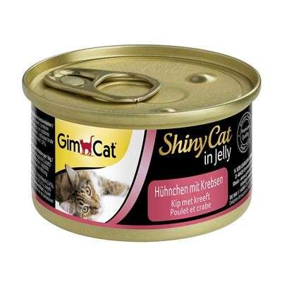 GimCat ShinyCat Chicken with Crab 70 g test