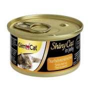 GimCat ShinyCat Thunfisch mit Hühnchen 70g