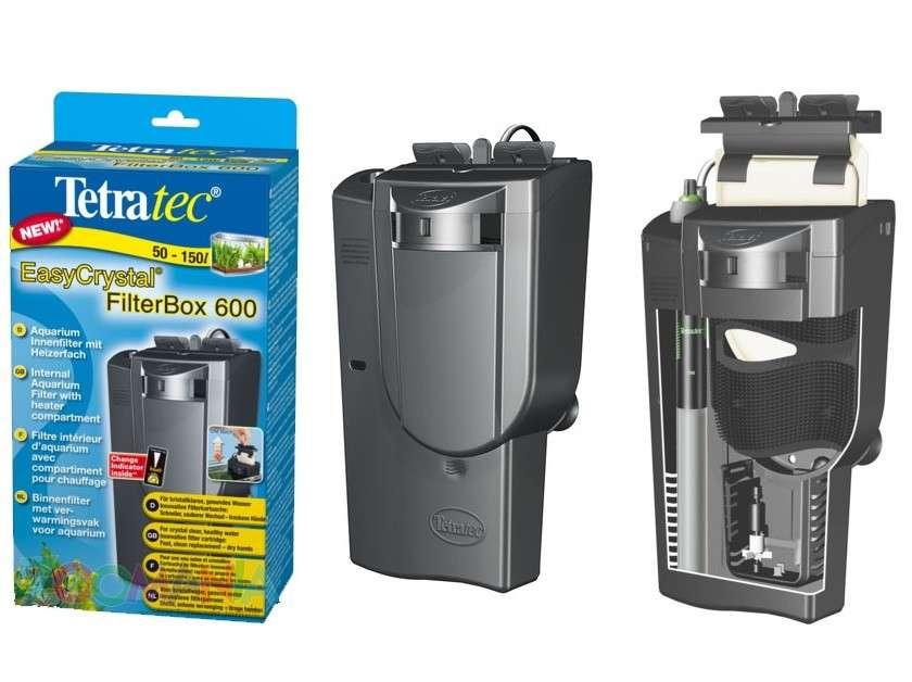 Tetra EasyCrystal FilterBox 600   met korting aantrekkelijk en goedkoop kopen