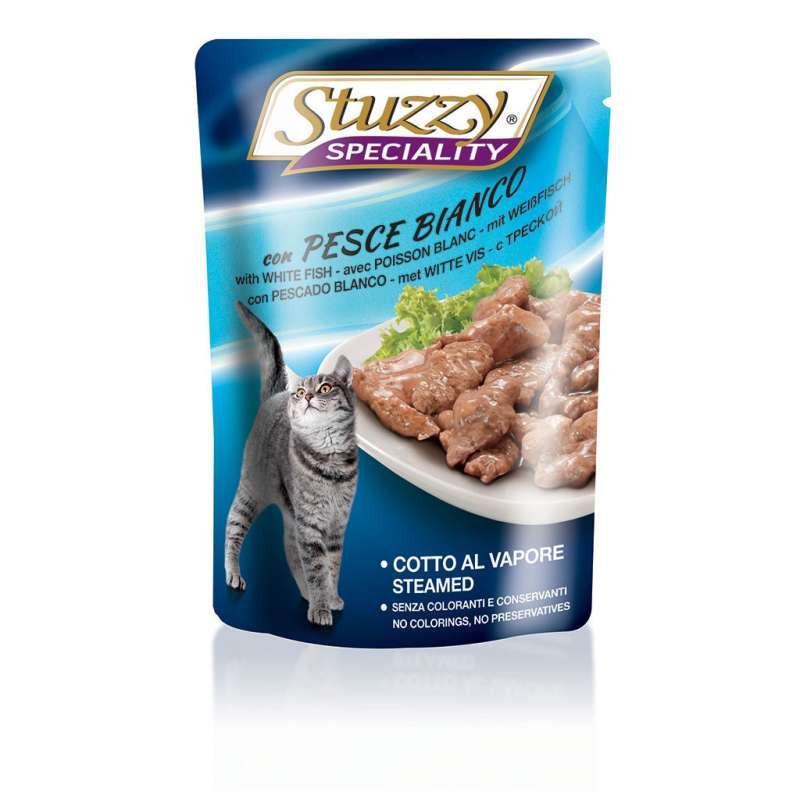 Stuzzy Cat Speciality met Witte vis 100 g 8005852250117