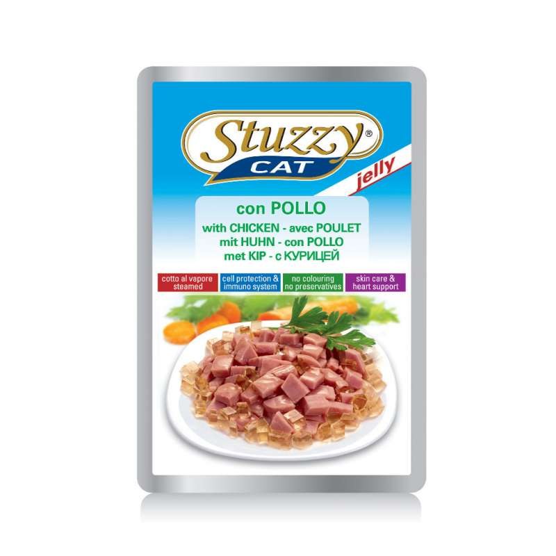 Stuzzy Cat Jelly Chicken 100 g buy online
