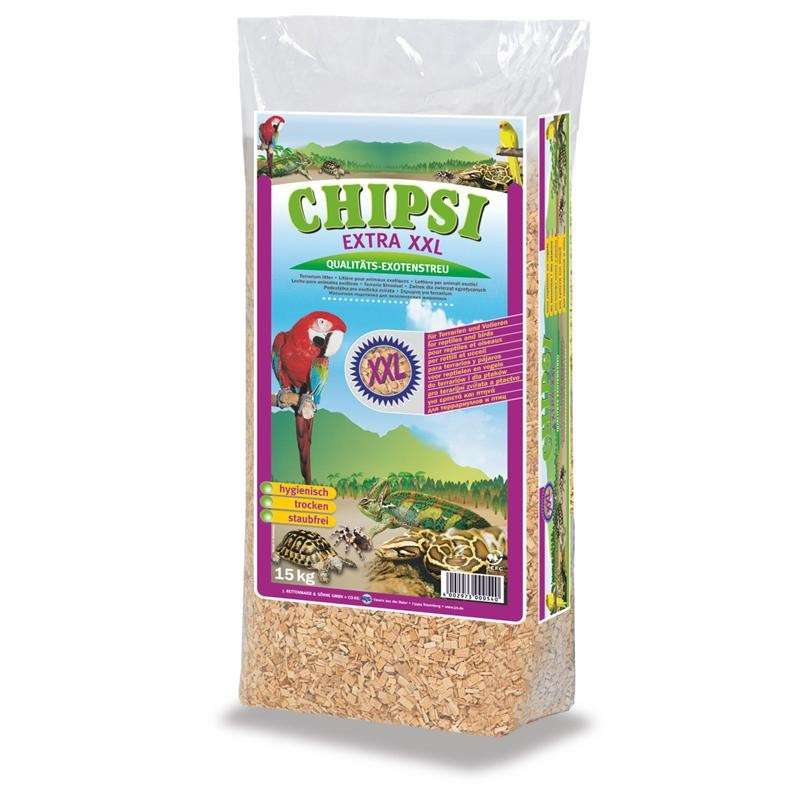 Chipsi Extra XXL (Exotenstreu) 15 kg