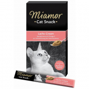 Miamor Cat Snack Lachs-Cream 6x15 g
