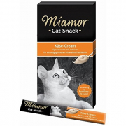 Miamor Cat Snack Crema con queso 6x15 g