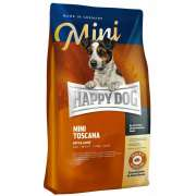 Happy Dog Mini Toscana med And & Laks - Smag 4 kg