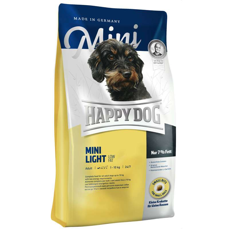 Happy Dog Supreme Mini Light Low Fat 1 kg, 300 g, 4 kg