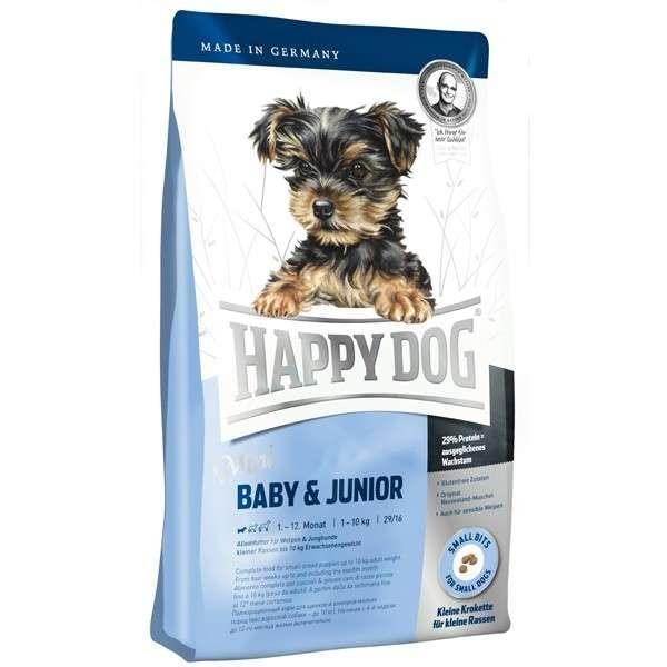 Happy Dog Supreme Mini Baby & Junior 4 kg, 300 g, 1 kg