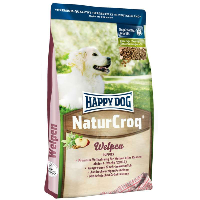 Happy Dog NaturCroq Pennut 1 kg, 15 kg, 4 kg