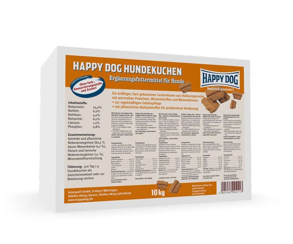Happy Dog Hundekuchen 10 kg