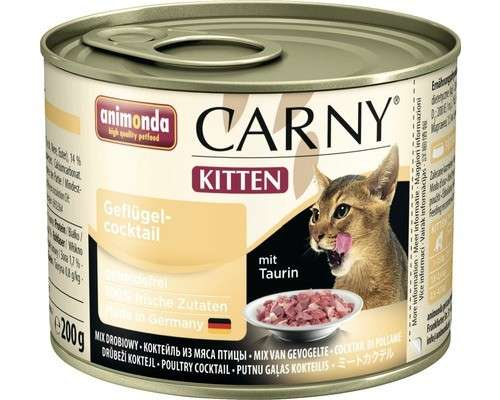Carny Kitten Poultry Cocktail by Animonda 400 g, 200 g buy