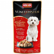 Vom Feinsten Adult Chicken fillet, Beef meat and Goji berries 100 g van Animonda
