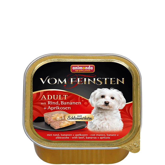 Animonda Vom Feinsten Adult with Beef, Banana and Apricots 150 g