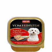 Vom Feinsten Adult with Beef, Banana and Apricots 150 g fra Animonda