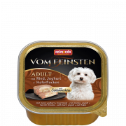 Animonda Vom Feinsten Adult with Beef, Yoghurt & Oatmeal 150 g
