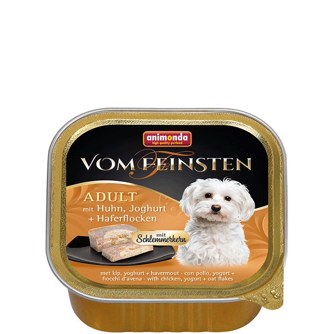 Animonda Vom Feinsten  Adult with Chicken, Yoghurt and Oatmeal 150 g