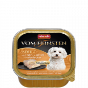 Vom Feinsten Adult + con Pollo, Yogurt + Fiocchi d'Avena 150 g di Animonda