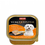 Vom Feinsten Adult with Chicken, Banana and Apricots 150 g fra Animonda