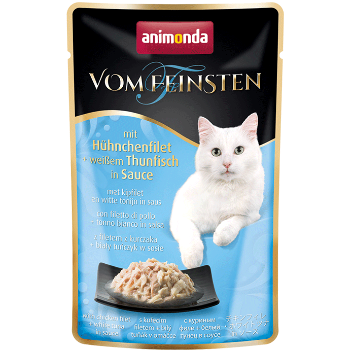 Animonda Vom Feinsten Adult Filete de Pollo con Atun Blanco 50 g