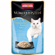 Vom Feinsten Adult with Chicken Fillet & White Tuna in Sauce 50 g