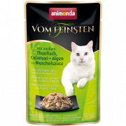 Vom Feinsten Adult with White Tuna, Calamary & Algae in Mussel Sauce 50 g
