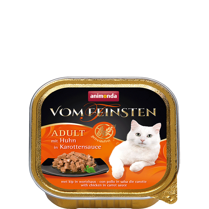 Animonda Vom Feinsten Adult with Chicken in Carrot Sauce 100 g