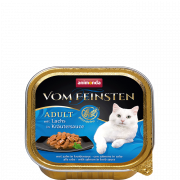 Vom Feinsten Adult with Salmon in Herbal Sauce 100 g fra Animonda