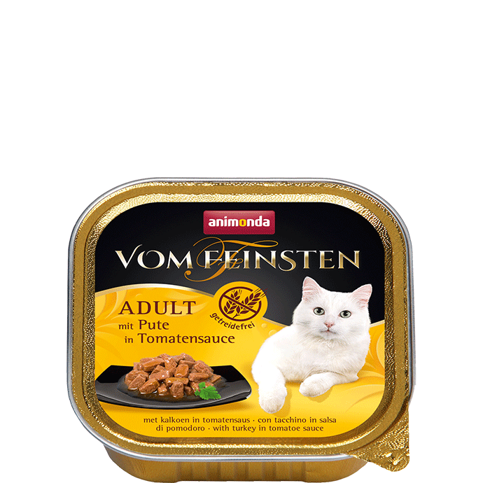 Animonda Vom Feinsten Adult with Turkey in Tomato Sauce 100 g