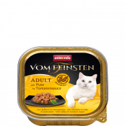 Vom Feinsten Adult with Turkey in Tomato Sauce 100 g van Animonda