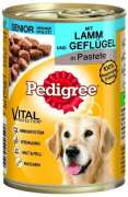 Pedigree Senior Classic Lamb & Poultry in Pate 400 g