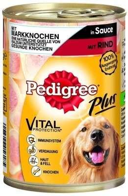 Pedigree Plus Mergbeen-Rund 400 g 4008429056185