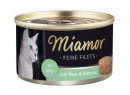Miamor Feine Filets Tin Light Tuna & Vegetables 100 g