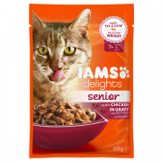 Iams Delights Senior with Chicken in gravy Art.-Nr.: 19783