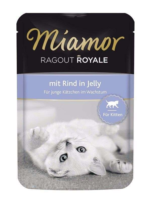 Miamor Ragout Royale bœuf en gelée pour chaton 100 g