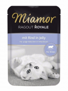 Miamor Ragù Royal Kitten Manzo 100 g
