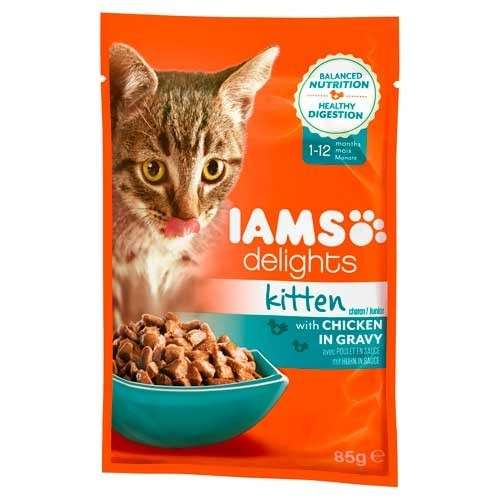 Iams Delights Kitten Met Kip In Saus 85 g