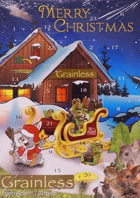 JR Farm Christmas Calendar for rodents 360 g