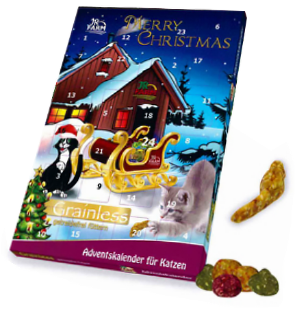 Jr Farm Grainless Calendrier De L Avent Pour Chat 180 G