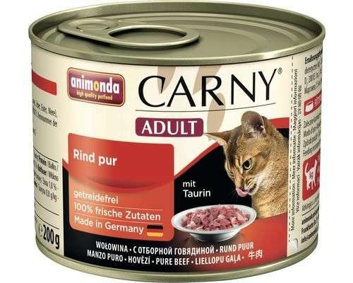 Animonda Carny Adult Oksekød 6x200 g, 6x400 g, 800 g, 400 g, 200 g test